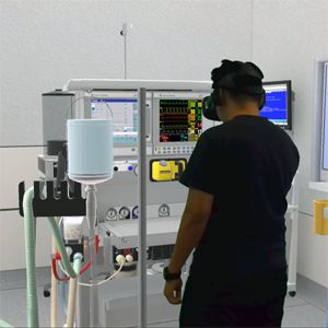 Toward interprofessional team training for surgeons and anesthesiologists using virtual reality