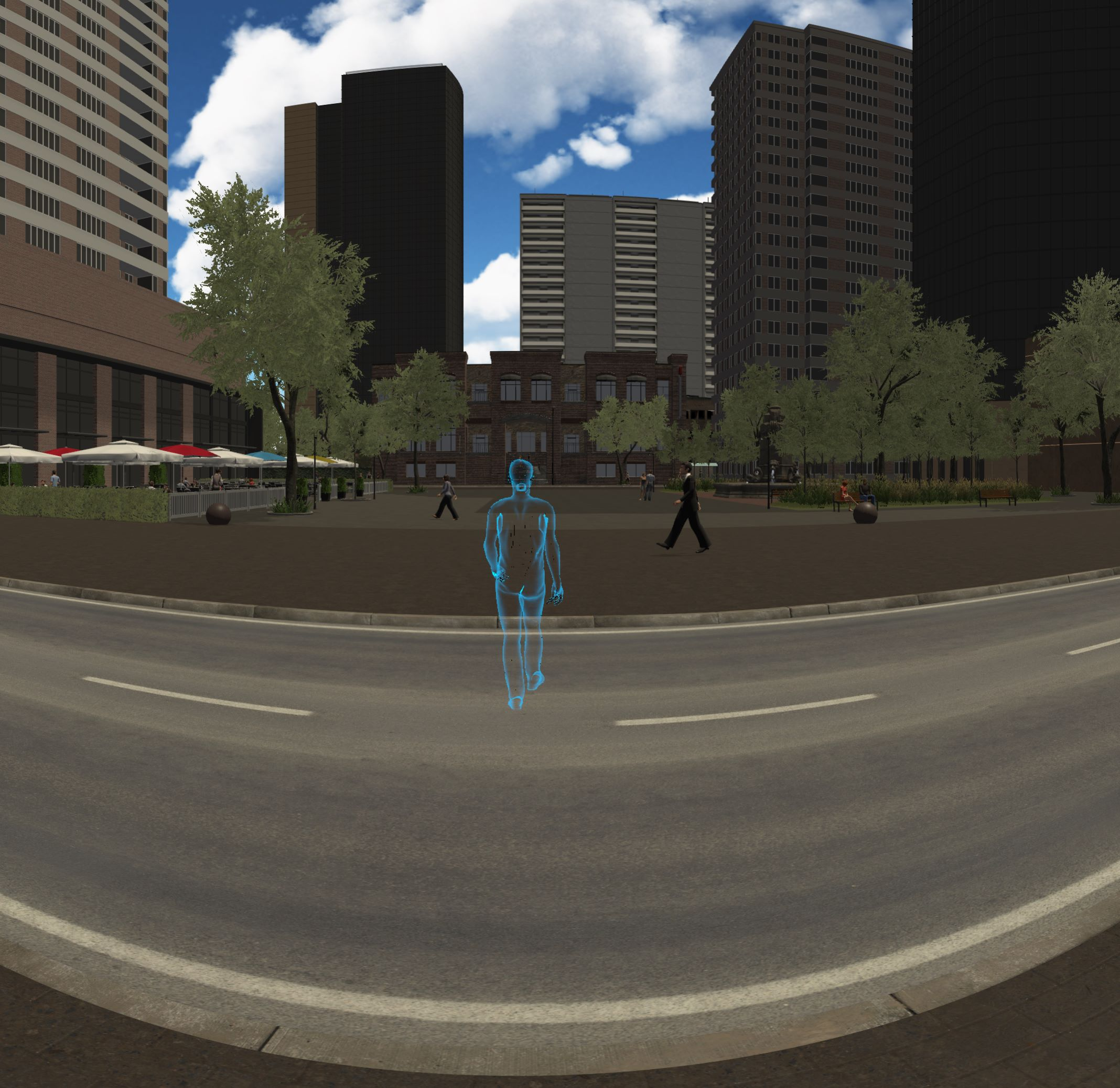 Crossing iVRoad: A VR application for detecting unilateral visuospatial neglect in postroke patients